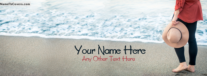 Write Your Name On FB Girl Pic Facebook Covers