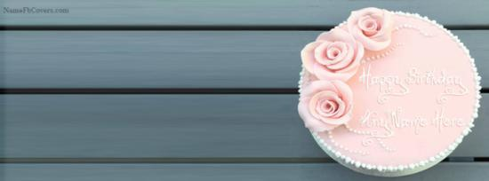Beautiful Birthday Cake Cover Photos For Fb With Name
