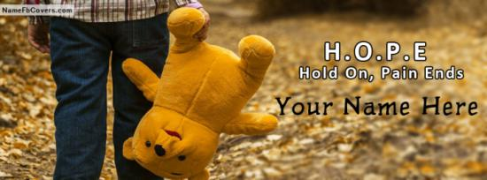 HOPE Facebook Cover Photo With Name