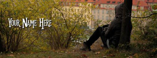 Alone Boy Facebook Cover Photo With Name