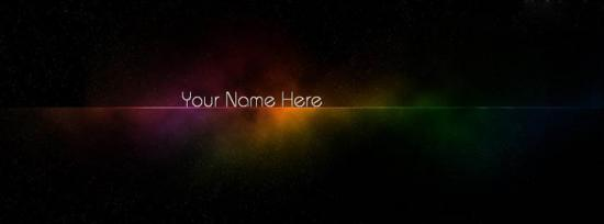 Art of Colors Facebook Cover Photo With Name