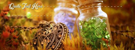 Beautiful Love Facebook Cover Photo With Name
