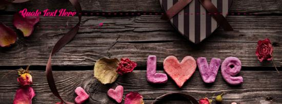 Cool Love Facebook Cover Photo With Name
