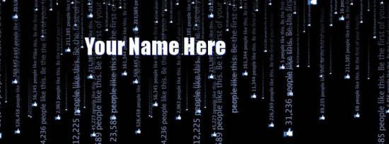 Facebook Matrix Facebook Cover Photo With Name