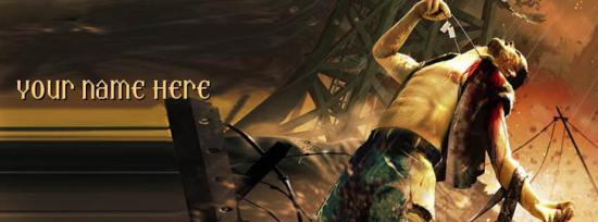 Far Cry Boy Facebook Cover Photo With Name