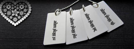 Friendship Necklace Facebook Cover Photo With Name