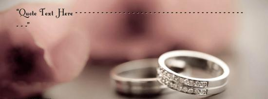 Happy Wedding Facebook Cover Photo With Name