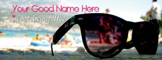 I love being Me Facebook Cover Photo With Name
