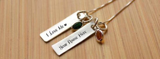 I Love Me Necklace Facebook Cover Photo With Name