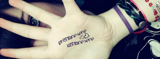I Love Myself Facebook Cover Photo With Name