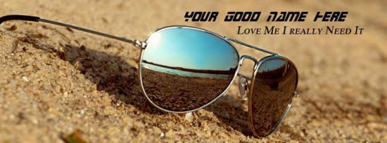 Love me I really need it Facebook Cover Photo With Name