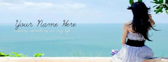 Missing something in my life Facebook Cover Photo With Name