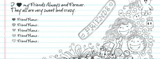 My Crazy Sweet Friends Facebook Cover Photo With Name