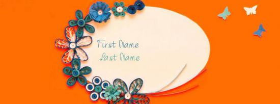 Simple is Beautiful 4 Facebook Cover Photo With Name