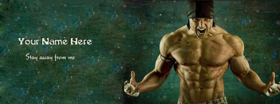 Stay away from me Facebook Cover Photo With Name