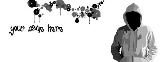 Vector Guy Facebook Cover Photo With Name