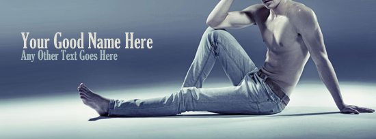 Jeans Guy Facebook Cover Photo With Name