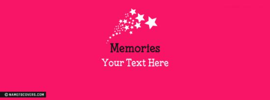 Memories Facebook Cover Photo With Name
