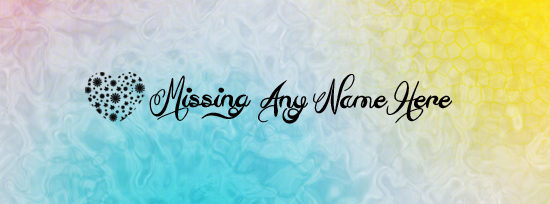 Missing Facebook Cover Photo With Name