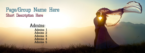 Most Romantic Couple Facebook Cover Photo With Name