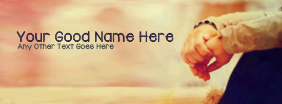 Sad Dude  Alone Facebook Cover Photo With Name