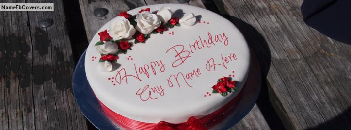 Write Name On Best Happy Birthday To You Facebook Cover