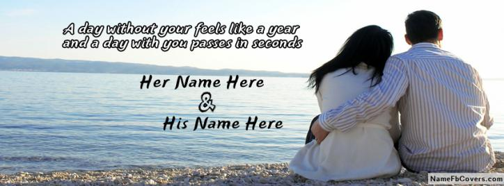 Day With Your Passes In Seconds Facebook Cover With Name