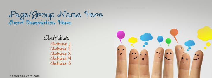 Discussion Facebook Cover With Name
