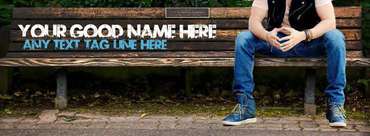 Awesome Cool Guy Facebook Cover With Name