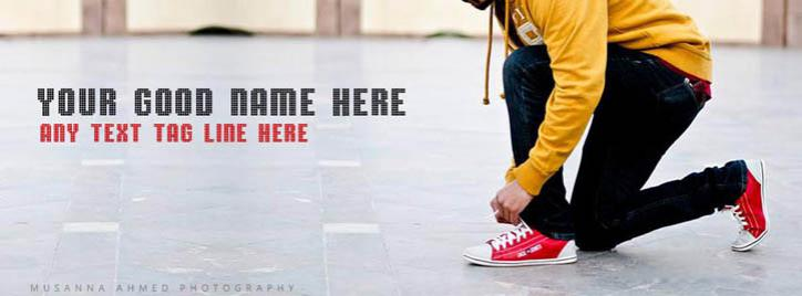 Being Stylish means Standing out Facebook Cover With Name