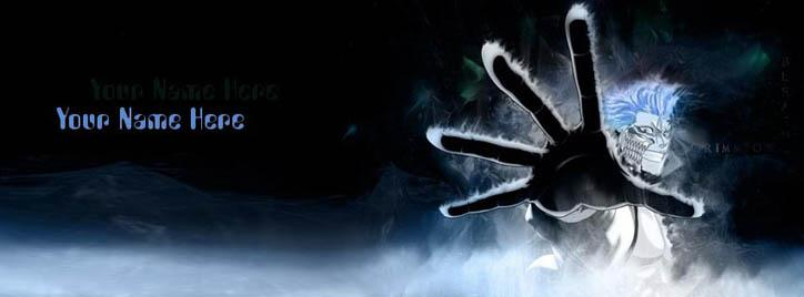 Bleach Grimmjow Facebook Cover With Name