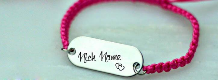 Cool Personalized Bracelet Facebook Cover With Name