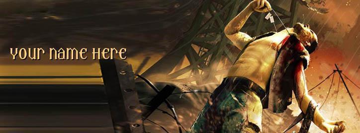 Far Cry Boy Facebook Cover With Name