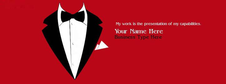 I am a Businessman Facebook Cover With Name