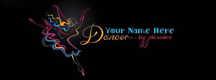 I am a Dancer Facebook Cover With Name