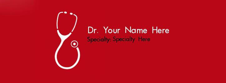 I am a Doctor Facebook Cover With Name