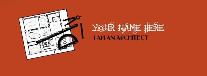 I am an Architect Facebook Cover With Name