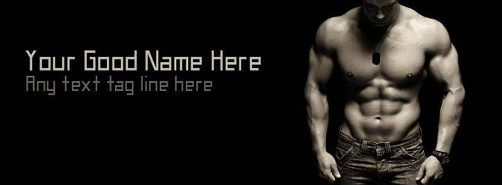 I am the Hunk Facebook Cover With Name
