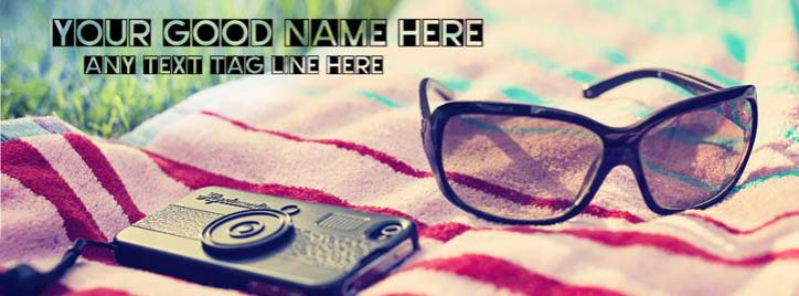 Outdoor Facebook Cover With Name