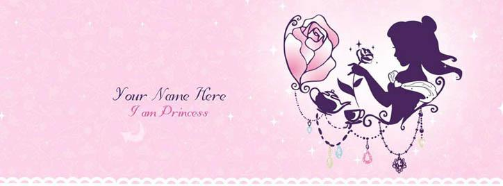 Princess Facebook Cover With Name