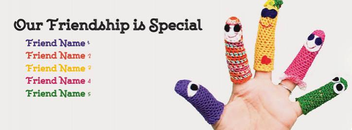 Special Friendship Facebook Cover With Name