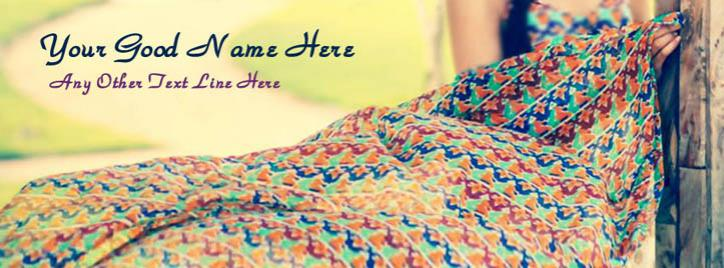 Summer Girl Facebook Cover With Name
