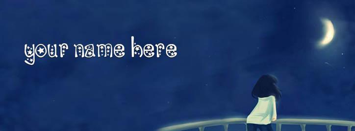 Written in the Stars Facebook Cover With Name