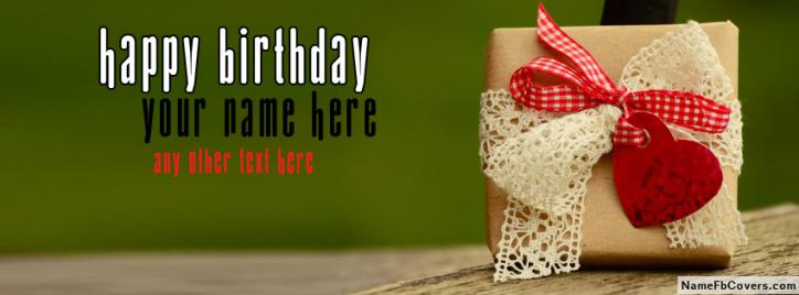 To My Love Happy Birthday Wishes FB Name Cover - Wishes Facebook Covers
