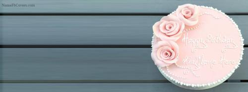 Beautiful Birthday Cake Cover Photos For Fb With Name Fb