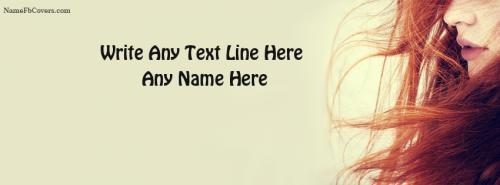 Beautiful Facebook Cover Photo For Girls With Name FB Cover With Name