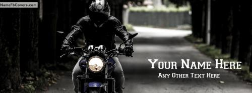 Bike rider Guy Facebook Cover