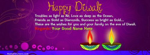 Write your name on diwali greetings facebook covers diwali greetings m4hsunfo