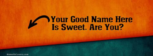 I am Sweet Facebook Cover