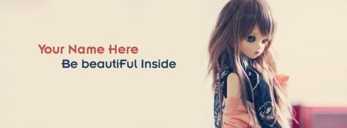 Be Beautiful Inside Facebook Cover